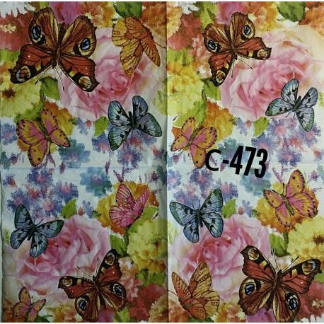 Салфетка Бабочки