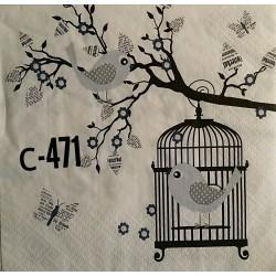Салфетка Клетка