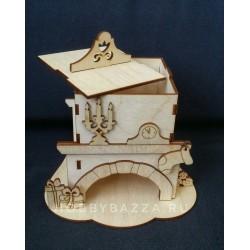 Чайный домик Камин
