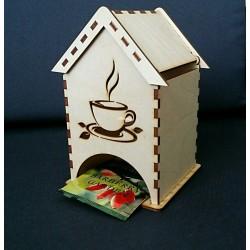 чайный домик с чашечкой