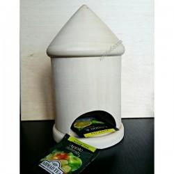 Круглый чайный домик из массива липы, купить
