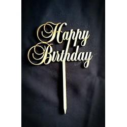 Топпер маленький Happy Birthday