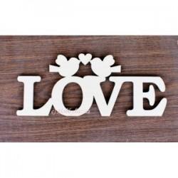 Слово Love - толщина 6 мм