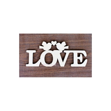интерьерное слово Love - 6 мм