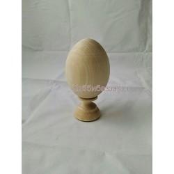 Деревянное пасхальное Яйцо 7,5 см монолит