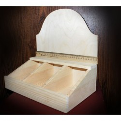 Чайная коробка заготовка