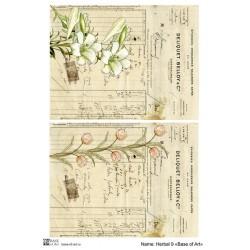 Декупажная карта Base of art Herbal 9