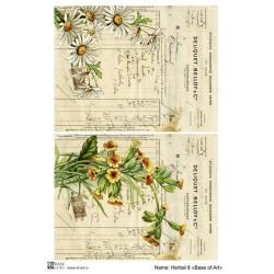 Декупажная карта Herbal 8