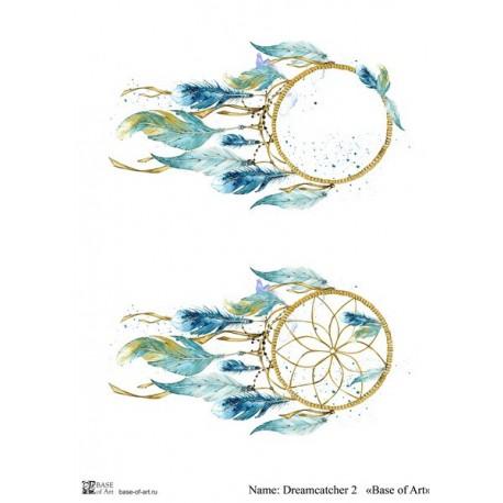 Декупажная карта Dreamcatcher 2