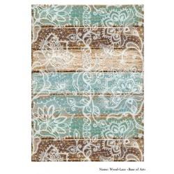 Base of Art декупажная карта А3 Wood+Lace