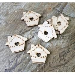 Декоративный элемент Пряничный домик, купить