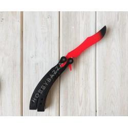 Нож сувенирный CS бабочка красный