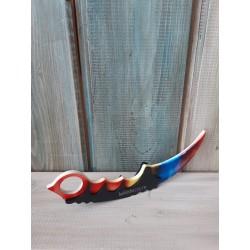 Нож керамбит. Скин Мраморный градиент (CS)