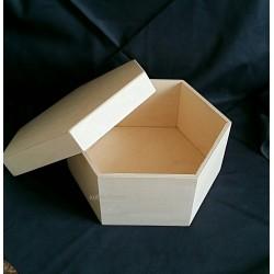 Шестигранный короб из фанеры