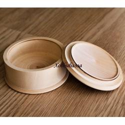 Шкатулка круглая диаметр 8 см