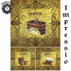 Декупажная карта 15691 Кафе, купить