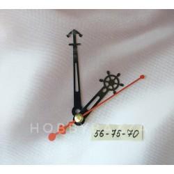 Стрелки для часов Морские 56-75-70