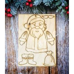 Дед Мороз (сборная подвеска), купить