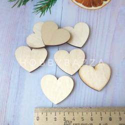 Декоративный элемент Сердце 4 см