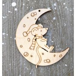 Подвеска Мышка на Луне (краторы)