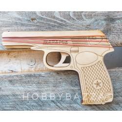 Пистолет резинкострел Макаров