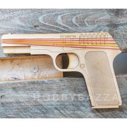 Пистолет резинкострел ТТ