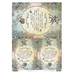 рисовая бумага Молитва