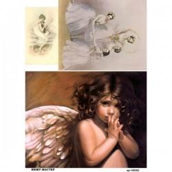 рисовая бумага Ангел