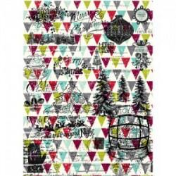 рисовая бумага для декупажа Рождество-251 Craftpremier