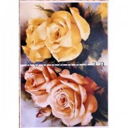 Декупажная карта Розы №7