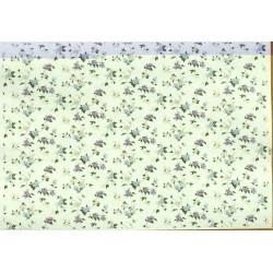 Декупажная карта Цветы Фон № 3