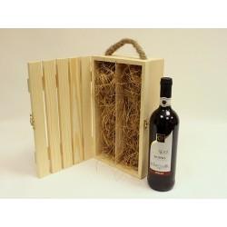 Заготовка реечный короб под 2 бутылки вина