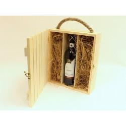 Заготовка Реечный короб под 3 бутылки вина