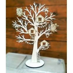 Дерево с совушками