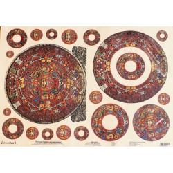 Рисовая бумага Ацтеки