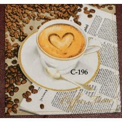 Салфетка Кофе