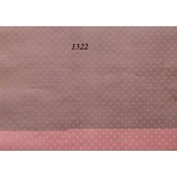 Декупажная карта Розовый горох на сером