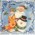 Салфетка Веселый Санта