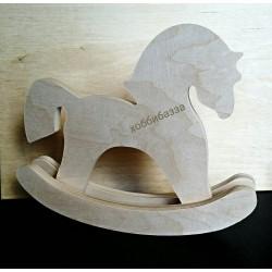 Лошадка фанерная большая