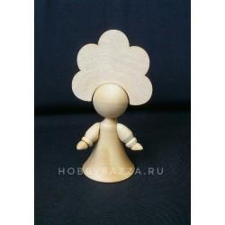 Куколка Девочка в кокошнике (цветочек)