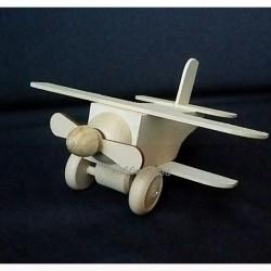 Самолетик (деревянная заготовка-игрушка)