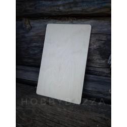 Деревянная разделочная доска для кухни из фанеры, заготовка для росписи