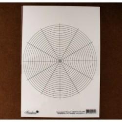 Шаблон для разметки циферблата