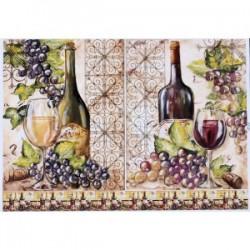 Декупажная карта Вино №2
