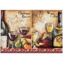 Декупажная карта Вино