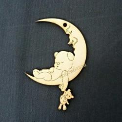 Подвеска Мишка на Луне