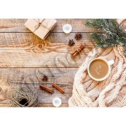 Фотофон Утро зимой А3