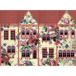 цветочный домик