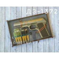 Набор Пистолет и мишень Оружие победы