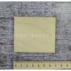 Накладка прямоугольная 7,2*6,2 см